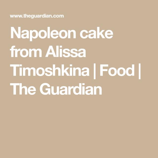 Napoleon cake from Alissa Timoshkina #napoleonkuchenrussisch