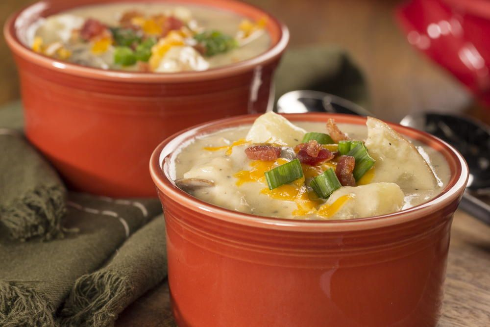 There's nothing like a hearty, steaming bowl of soup to satisfy and comfort. That's why our delicious, creamy Baked Potato Soup might be just what you need!