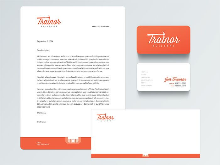 1777807 Letterhead Examples and Ideas 60+ Cool Stationary Designs - corporate letterhead template