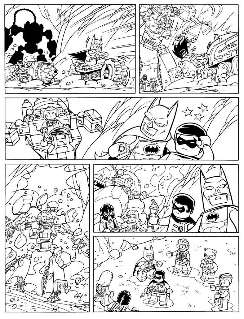 lego dimensions coloring pages batman - photo#25