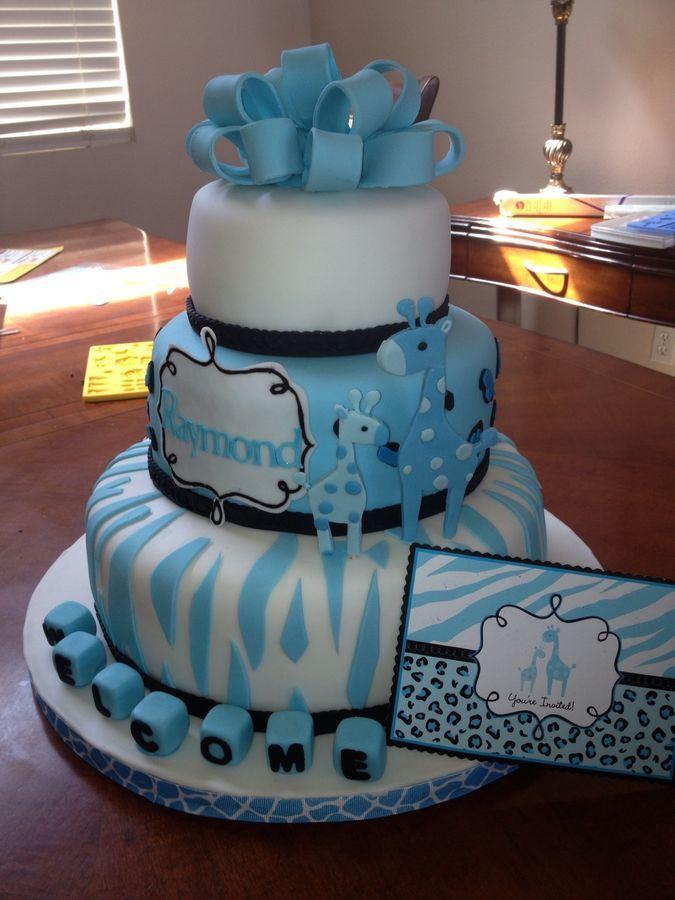 baby cakes baby shower cakes giraffes baby showers motherhood jungle