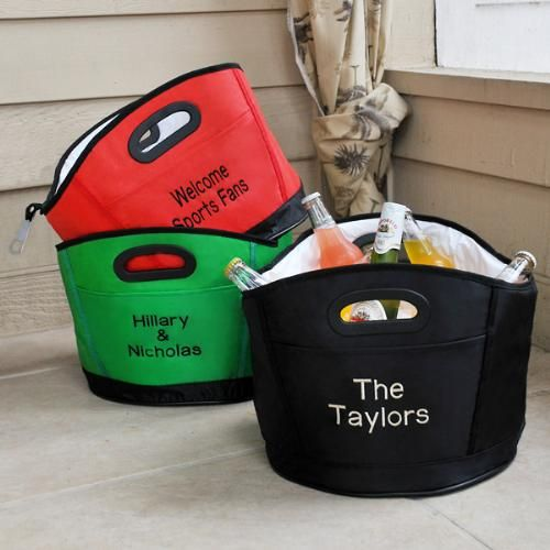 Personalized Party Beverage Cooler Tub