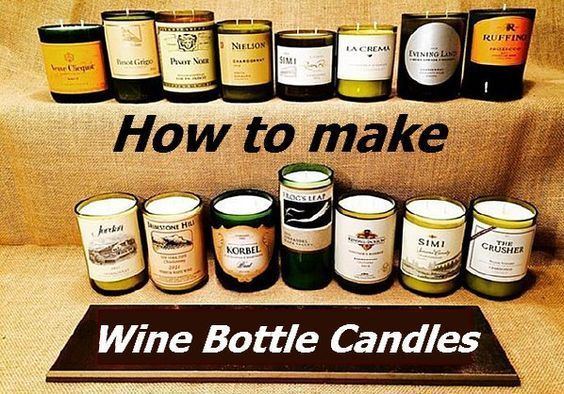 Diy Wine Bottle Candles Easy Diy Instructions To Make Them With