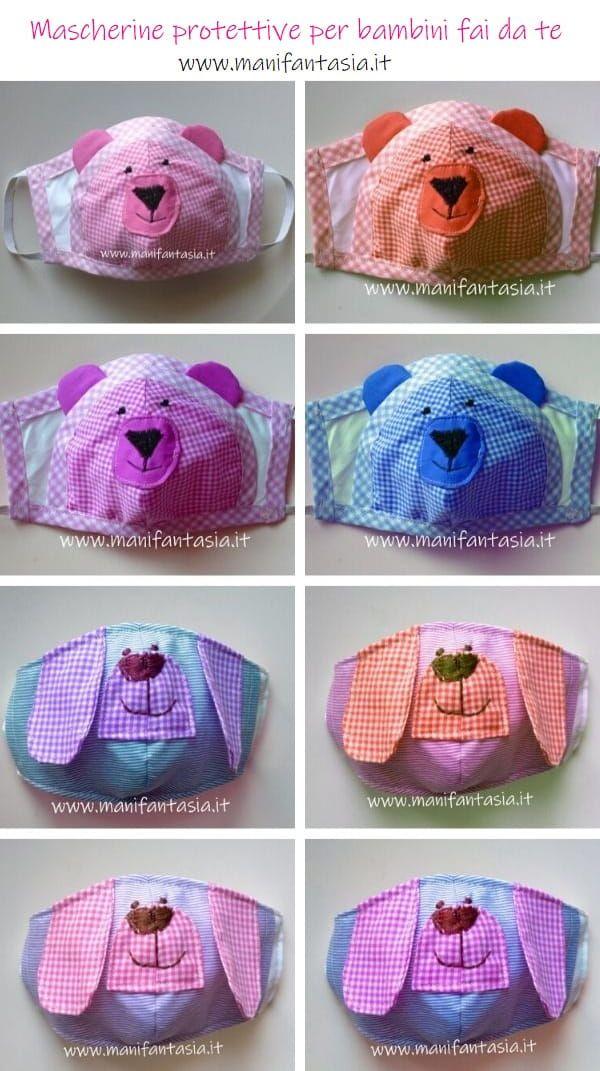 Photo of Mascherine per bambini di stoffa con tasca filtro – manifantasia