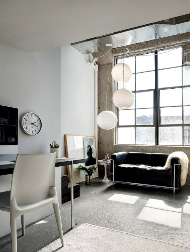 virlova style interior un loft en brooklyn minimalismo