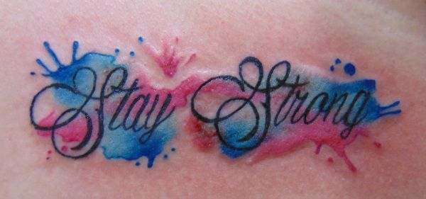 e5ab76cc2d5c6 stay strong tattoo design   Memorial/ friendship tattoos   Strong ...