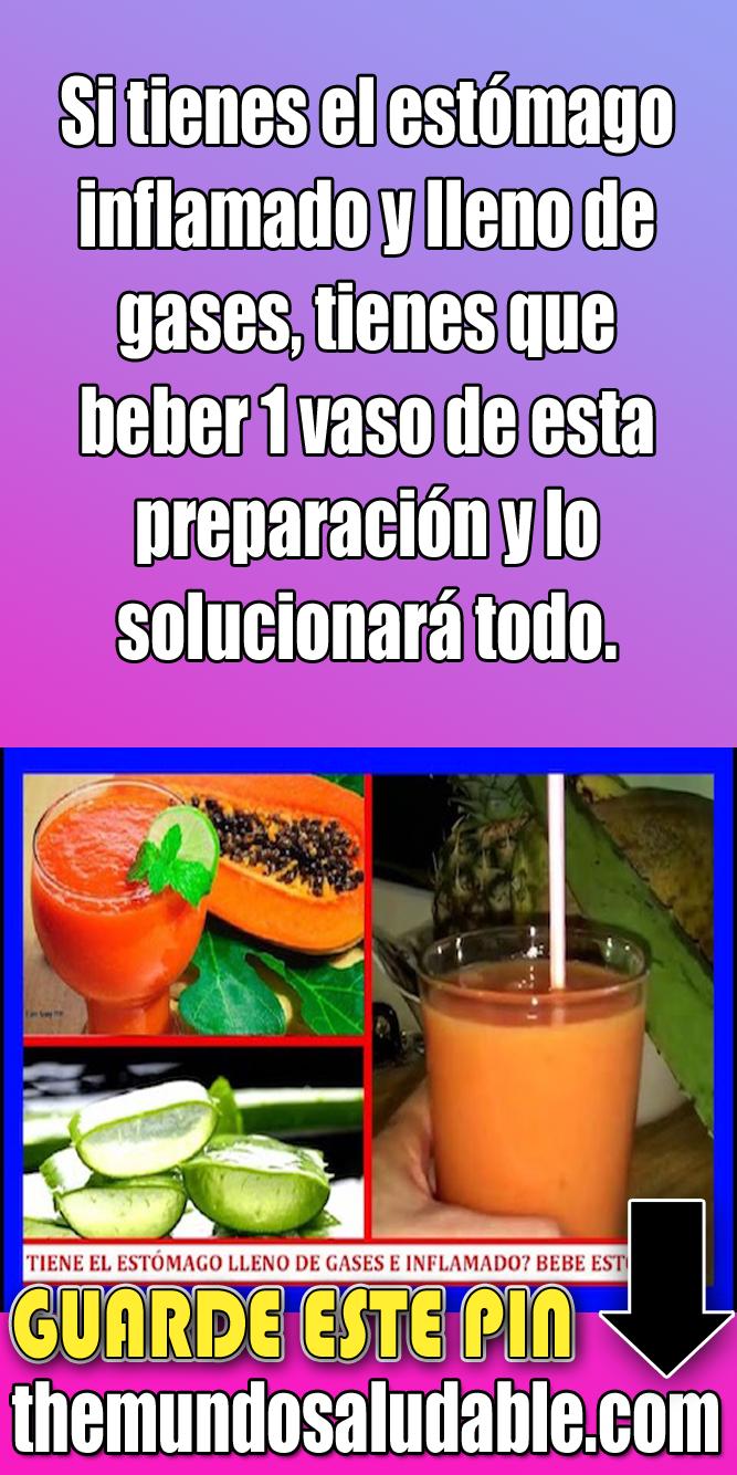 Si Tienes El Estómago Inflamado Y Lleno De Gases Tienes Que Beber 1 Vaso De Esta Preparación Y Lo S Estomago Inflamado Estomago Hojas De Higo
