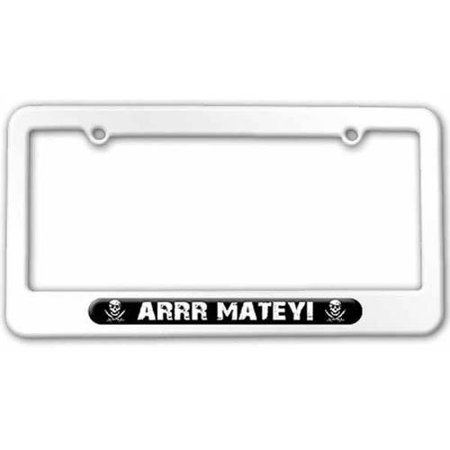 Pirate Swords License Plate Novelty Tag
