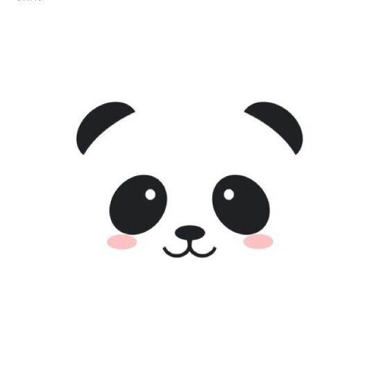 Imprimer Et Encadrer Panda Desenho Panda Fofo Decoracoes De Panda