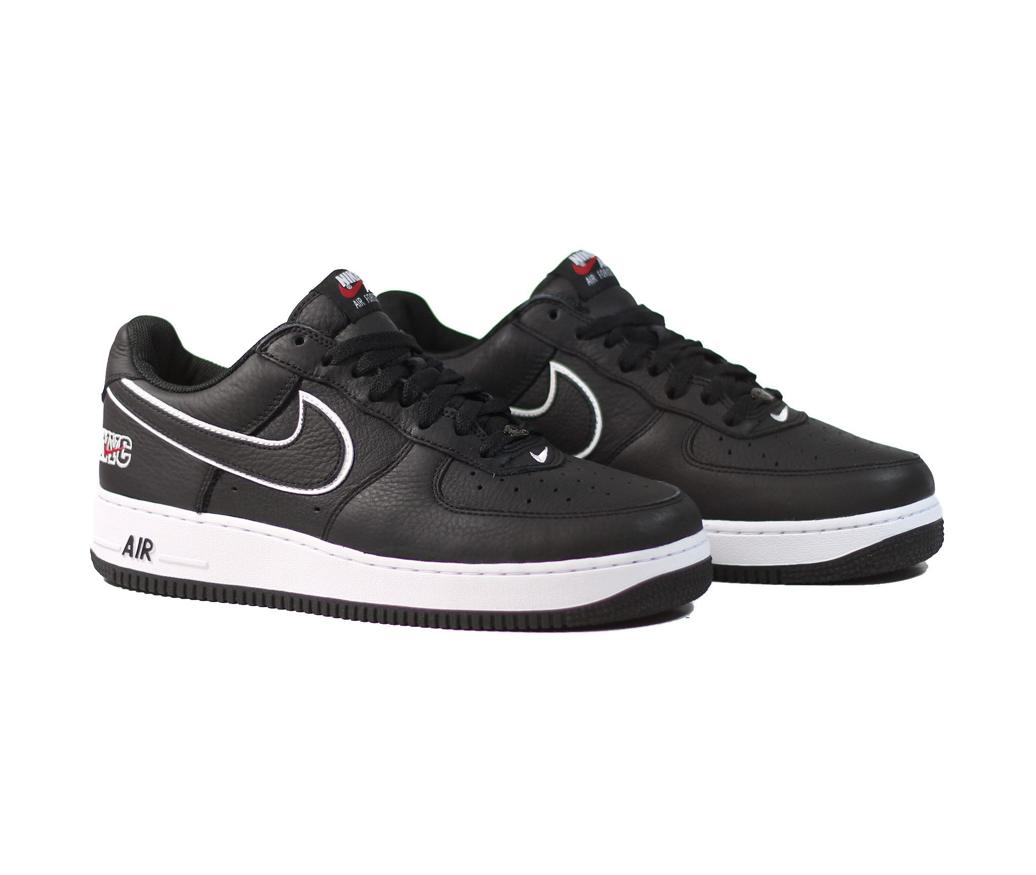 new styles 0e360 13a86 ... nike air force 1 low retro black black white varsity red