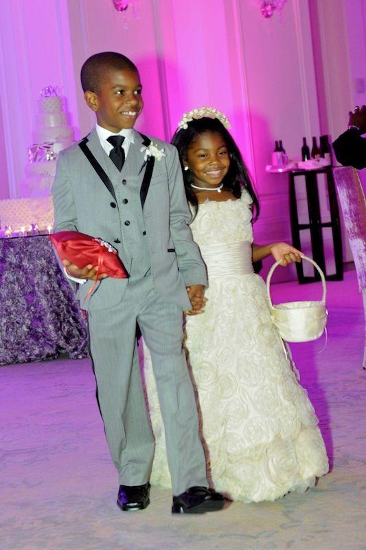 Real Housewives Of Atlanta S Porsha Williams Kordell Stewart Wed Wedding With Kids Flower Girl Wedding