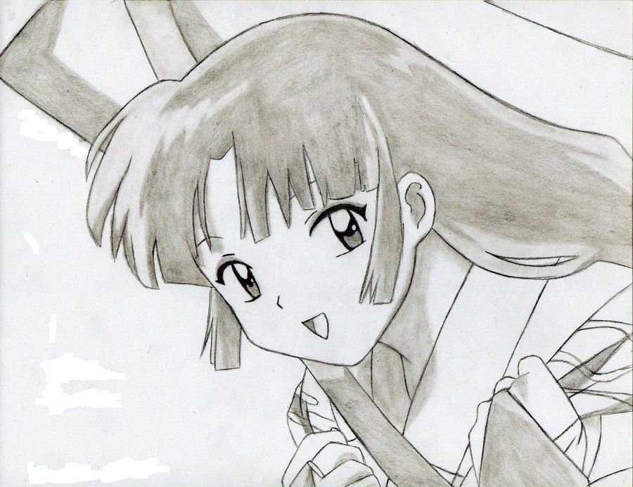 Sango Anime Drawing 26326092 900 692 900x