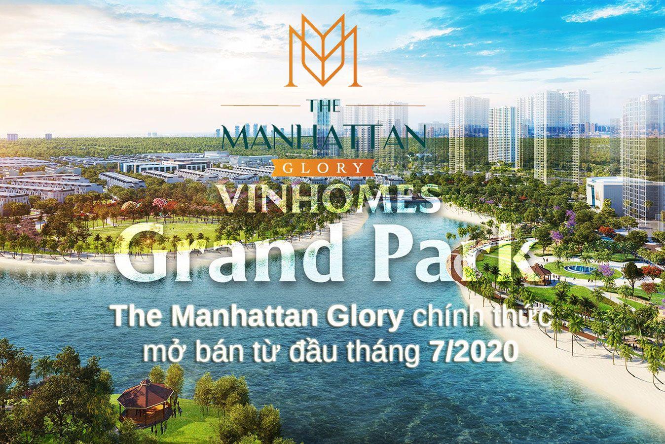 The Manhattan Glory Vinhomes Grand Park Quận 9 - Manhattan, Parks, Công viên