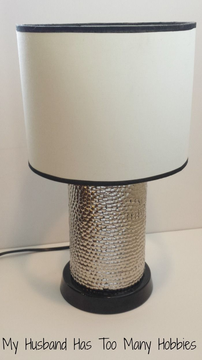 Diy Lamp Makeover Changing The Shape Of This Lamp Base 4 Ways