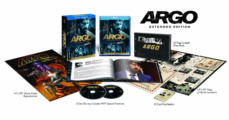 Amazon Com Argo The Declassified Extended Edition Blu Ray Dvd Ultraviolet Combo Pack Ben Affleck Bryan Cranston Alan Arkin John Good Argo Blu Ray Blu