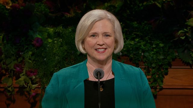 Do Spiritual Things the Lord's Way: Sister Neill F. Marriott, second counselor in the Young Women general presidency, speaks at the general women's meeting, 27 September 2014.