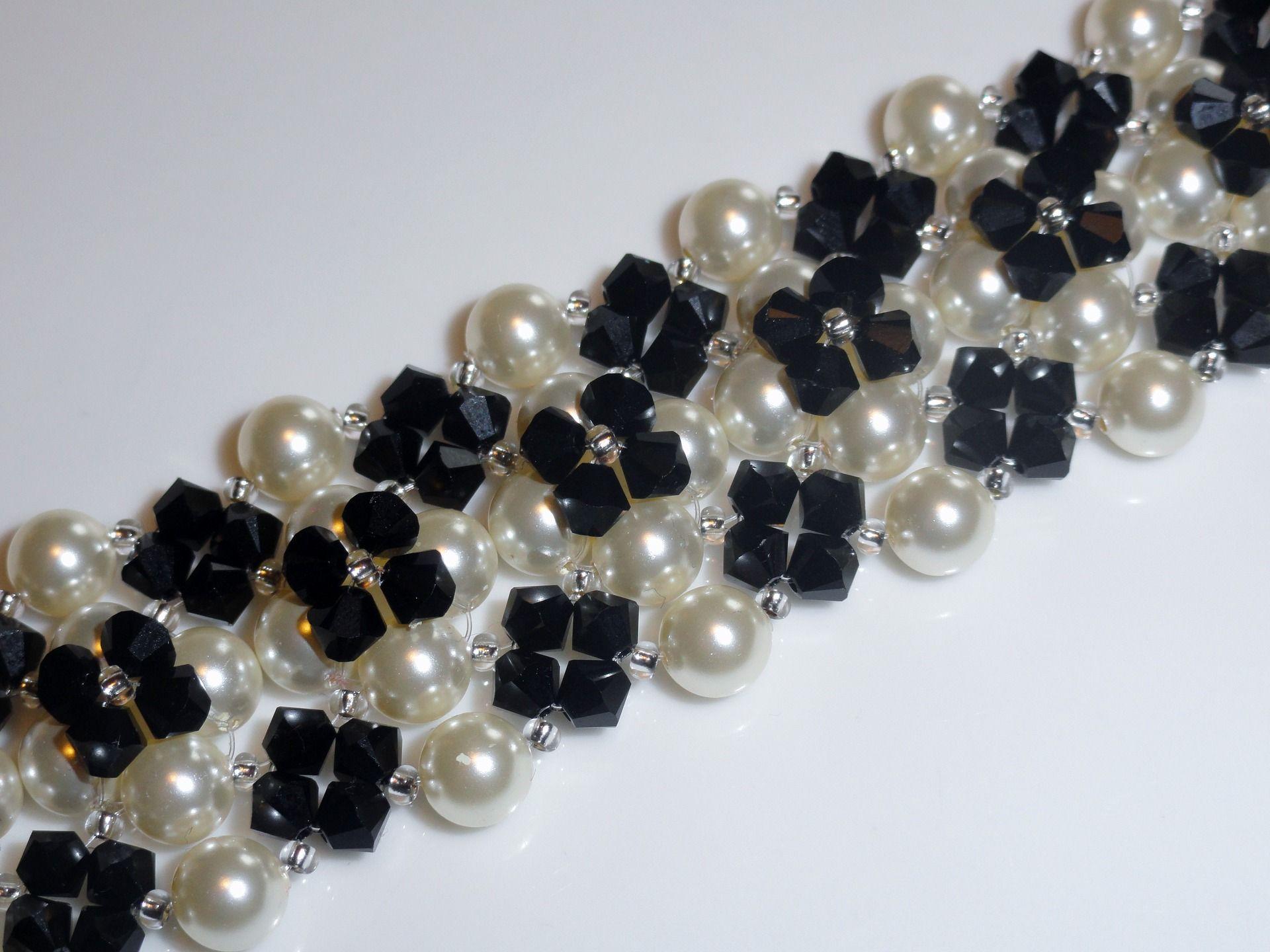bracelet perle cristal swarovski