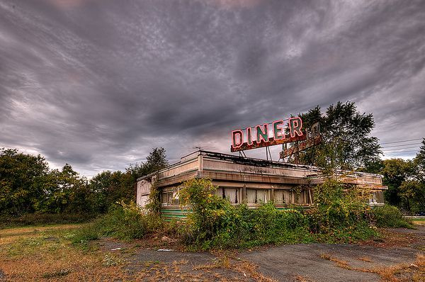 Abandoned Diner, New Jersey