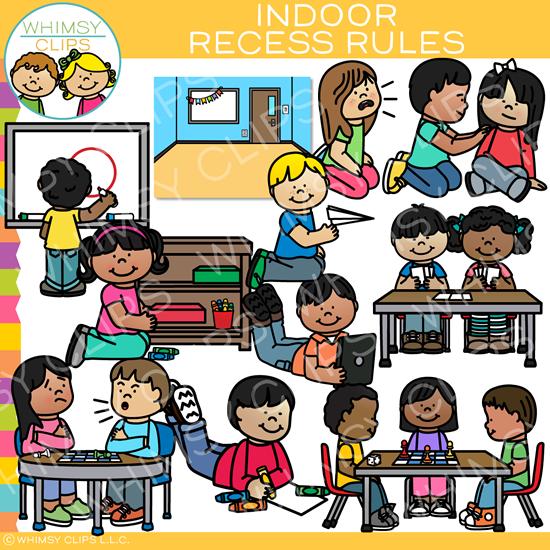 Indoor Recess Rules Clip Art Clip art, Recess rules