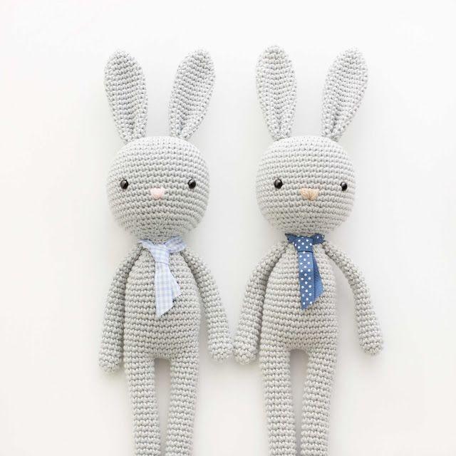 amigurumi-conejo-bunny patron gratis | Muñecos TEJIDOS | Pinterest ...