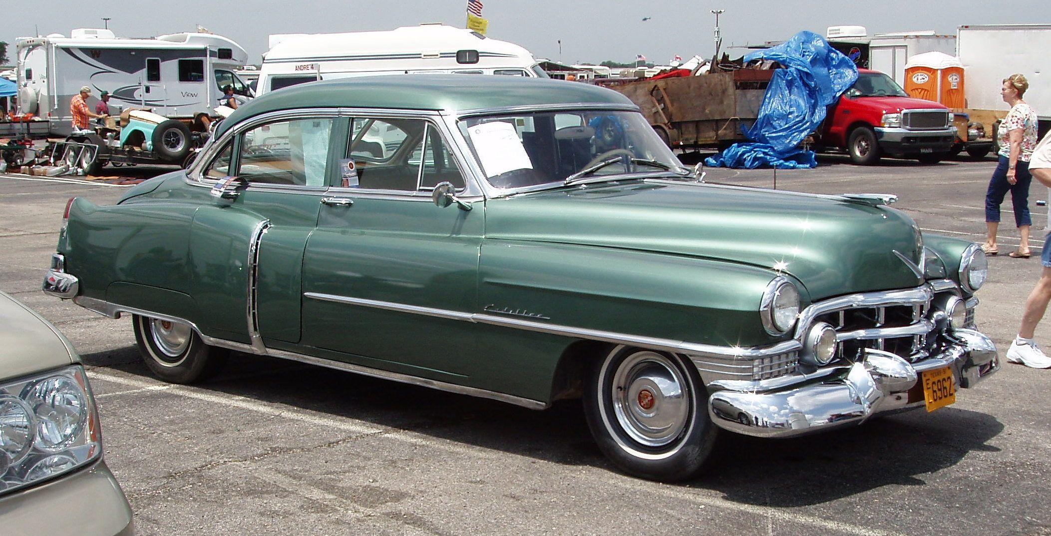 1951 Cadillac Series 62 Sedan American Autos 1949 1953 Fleetwood 60 Special