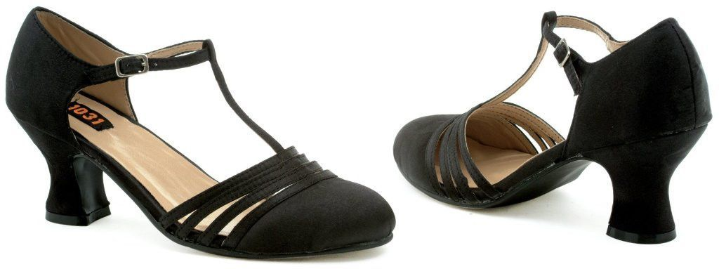 lucille (black) adult shoes - 9