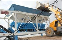 Atlas Make Mobile Concrete Batching Plant Come Equipped With A 2 X 2 Type Aggregate Feeder Aggregate Feeder Is With