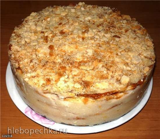 Торт Наполеон (постный) | Идеи для блюд, Торт, Рецепты