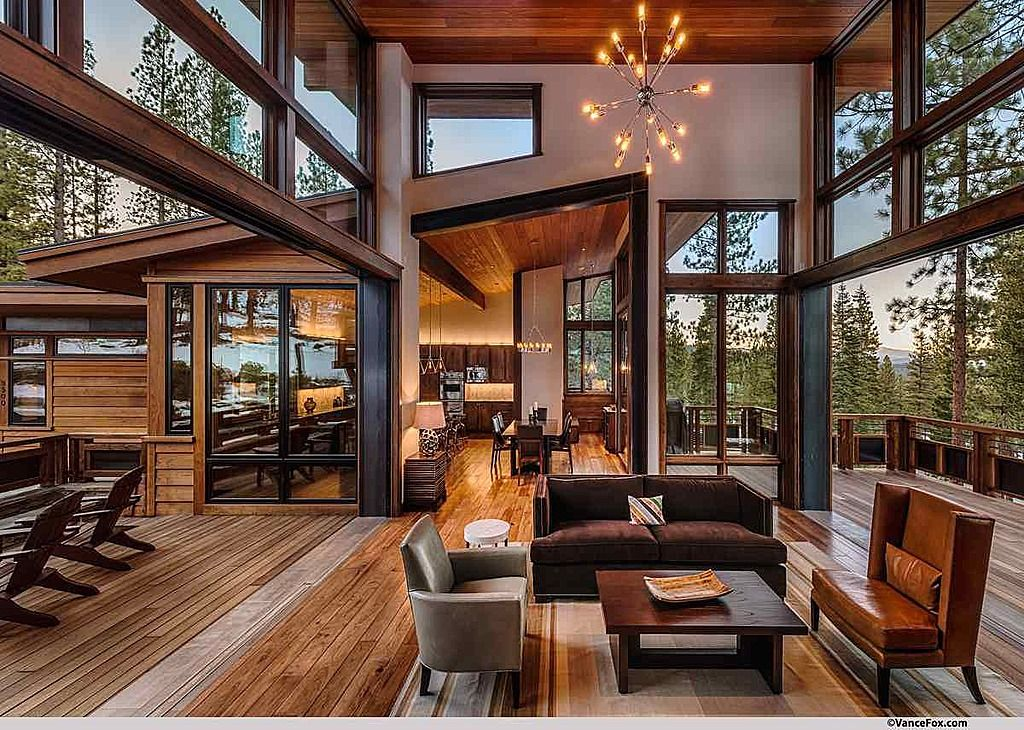 Breathtaking Contemporary Mountain Home In Steamboat Springs Contemporary House Design Modern House Design Modern Houses Interior