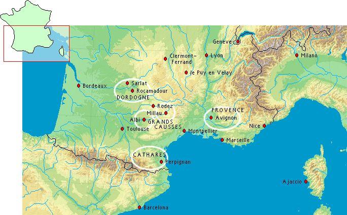 Fietsen In Frankrijk Fietsvakanties In Zuid Frankrijk Zuid