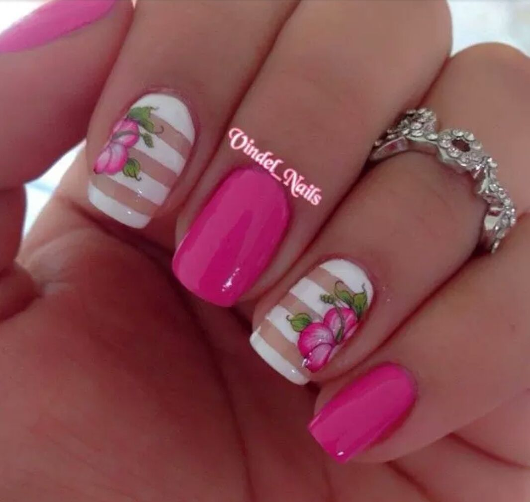 Pin by ira draci on nails art pinterest nail arts nails and like the white striped nails izmirmasajfo