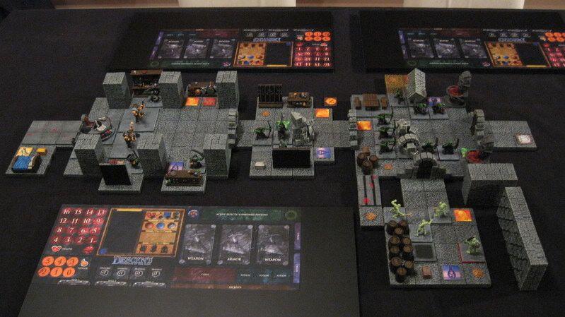 Descent 3d boardgame achtergronden