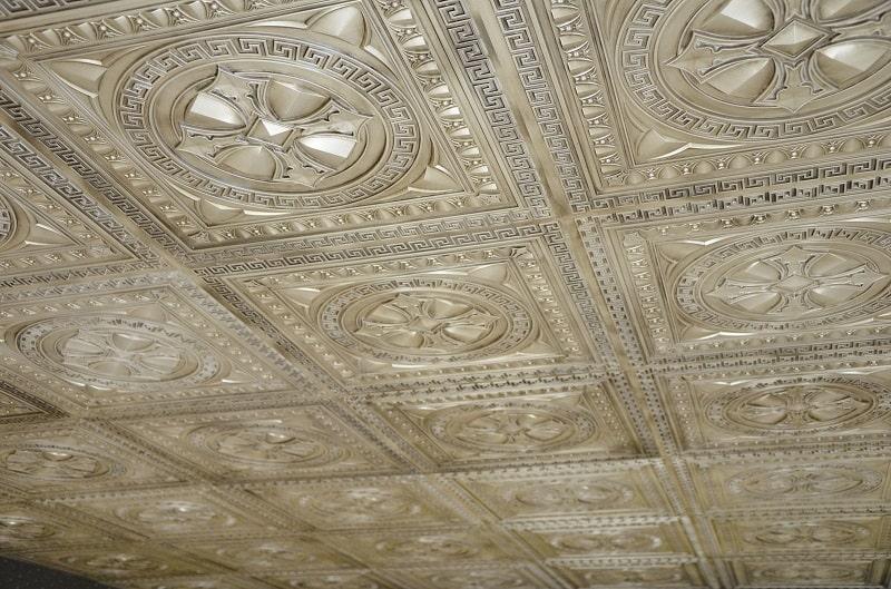 Faux Tin Ceiling Tiles Our Time Faux Tin Ceiling Wallpaper Ceiling Faux Tin Ceiling Tiles