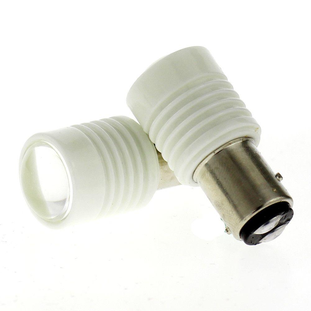 Bay15d 1157 6smd 7020 Led With Lens Dc 12v 24v Ceramic Shell Turn Brake Lamp Bulbs Car Lights Lamp Bulb Bulb