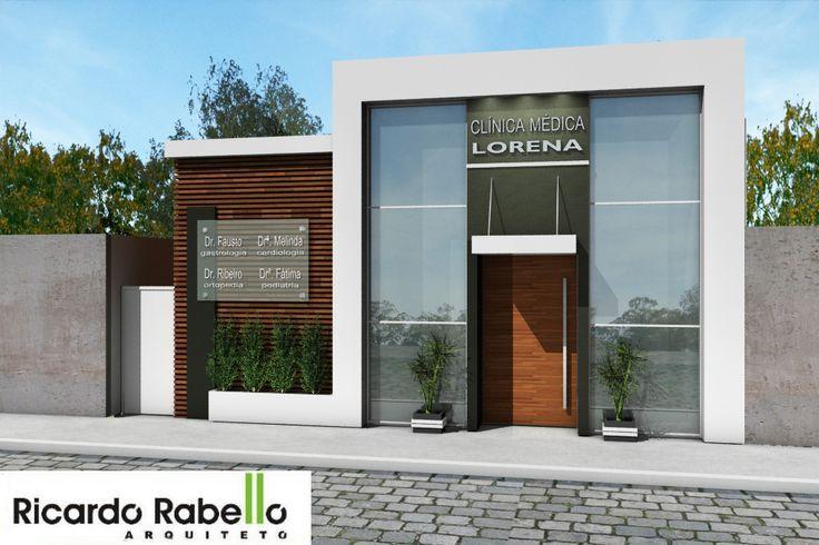 Image result for fachada de clinicas clinica for Fachadas apartamentos modernos