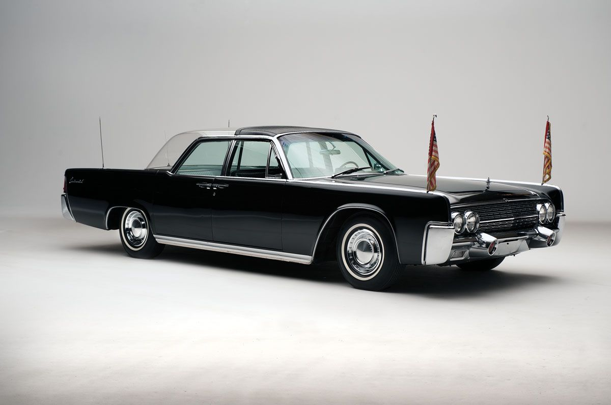 1962 Lincoln Continental Bubble Top Limousine Used By President