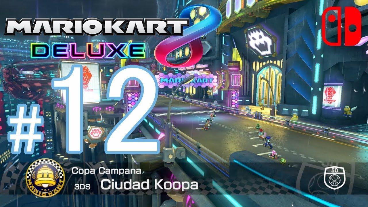 Mario Kart 8 Deluxe Basico 50cc Copa Campana Nintendo