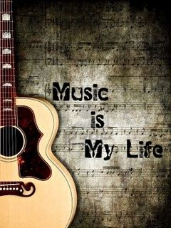 Music Is My Life Wallpaper Musik Pinterest Music Music