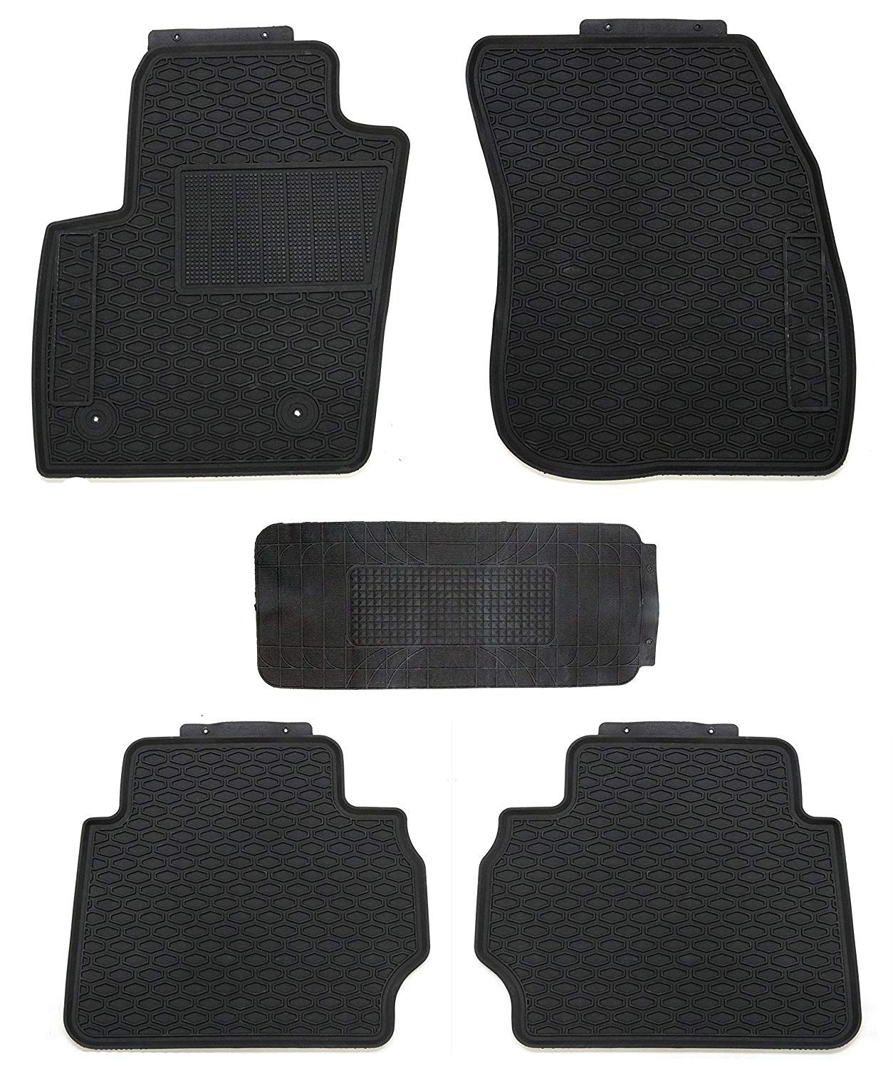 Tmb Motorsports All Weather Floor Mats For Ford Fusion 2013 2018
