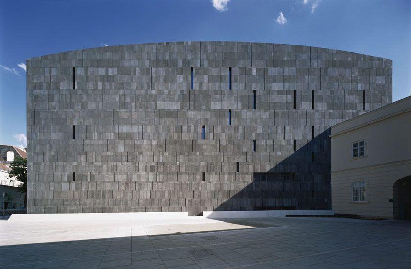 Ortner Ortner Museum Moderner Kunst Vienna 2001 Architektur Architekt Moderne Kunst