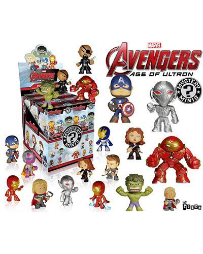 Iron Man Marvel Minis Avengers Age of Ultron Series 1 Mini Bobble Head Blind Bag