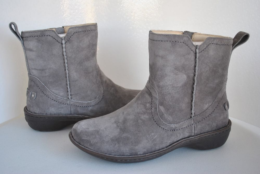 8ba770bcf88 UGG Women's Neevah Suede Charcoal Gray Boots Size US 9 ___ 1003421 ...