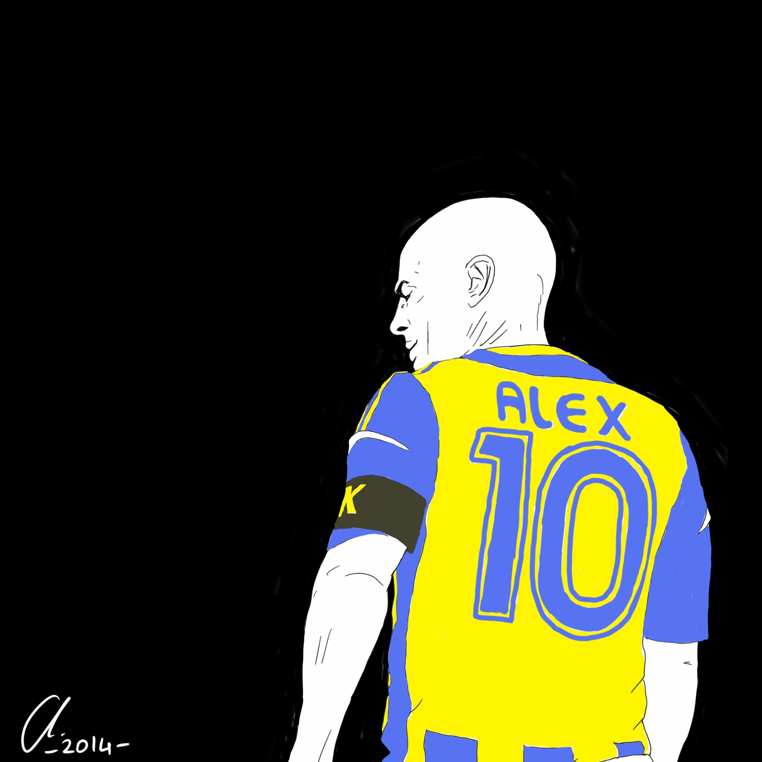 Alex De Souza Futbol Brasil Fenerbahce Brezilya Sultan Sulu