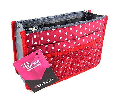 Periea Organiseur de sac à main Poche pour portefeuille 12 Compartiments - Chelsy (Rouge/Blanc, Moyen) Periea http://www.amazon.fr/dp/B00OBQOU00/ref=cm_sw_r_pi_dp_Hvo3vb03MJS97