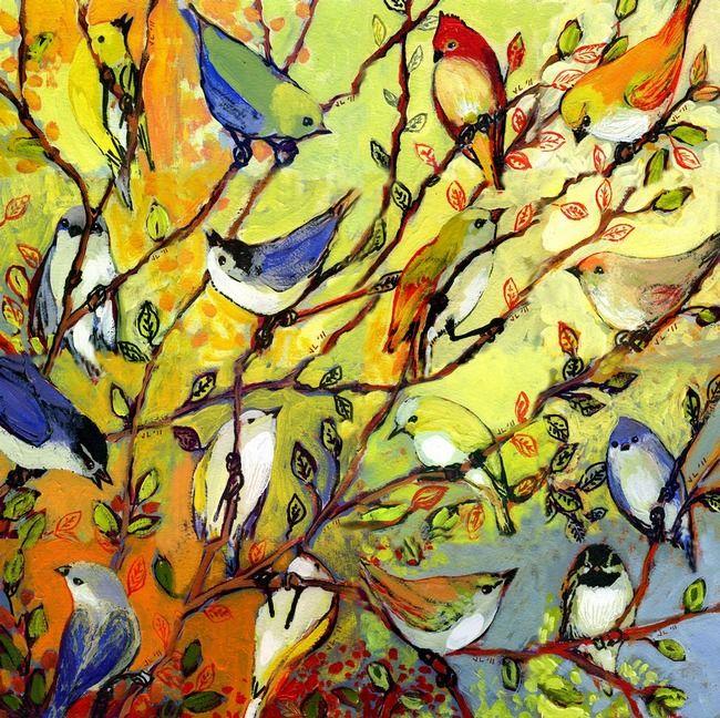 Birds Collage\