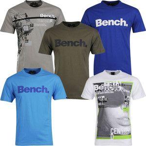 Bench Men S T Shirts 8 Options Ebay Mens Tshirts Mens T Shirts