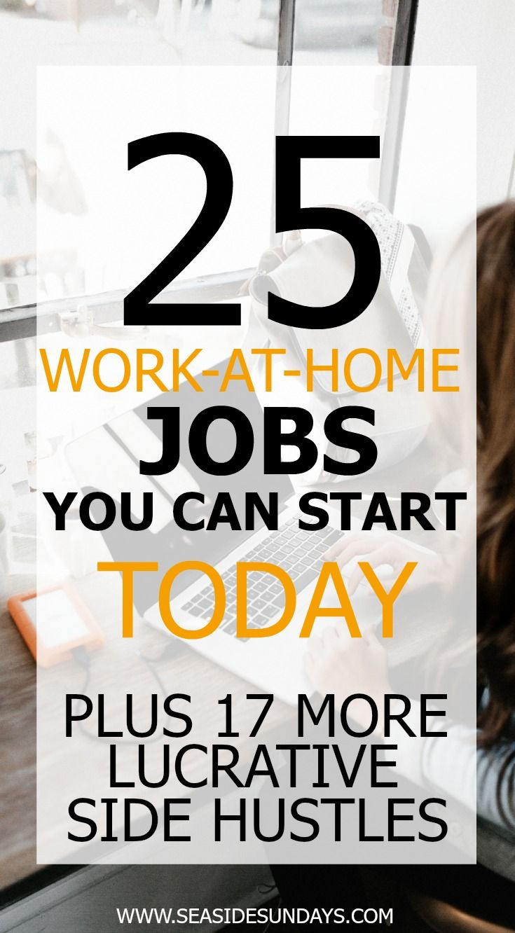 Make money fast with these ideas for earning a side income at home ...