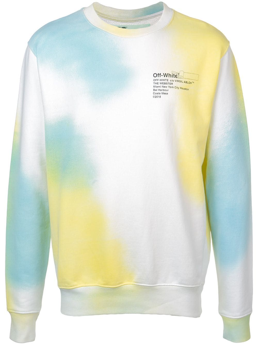 4072475dffef OFF-WHITE OFF-WHITE TIE-DYE SWEATSHIRT.  off-white  cloth