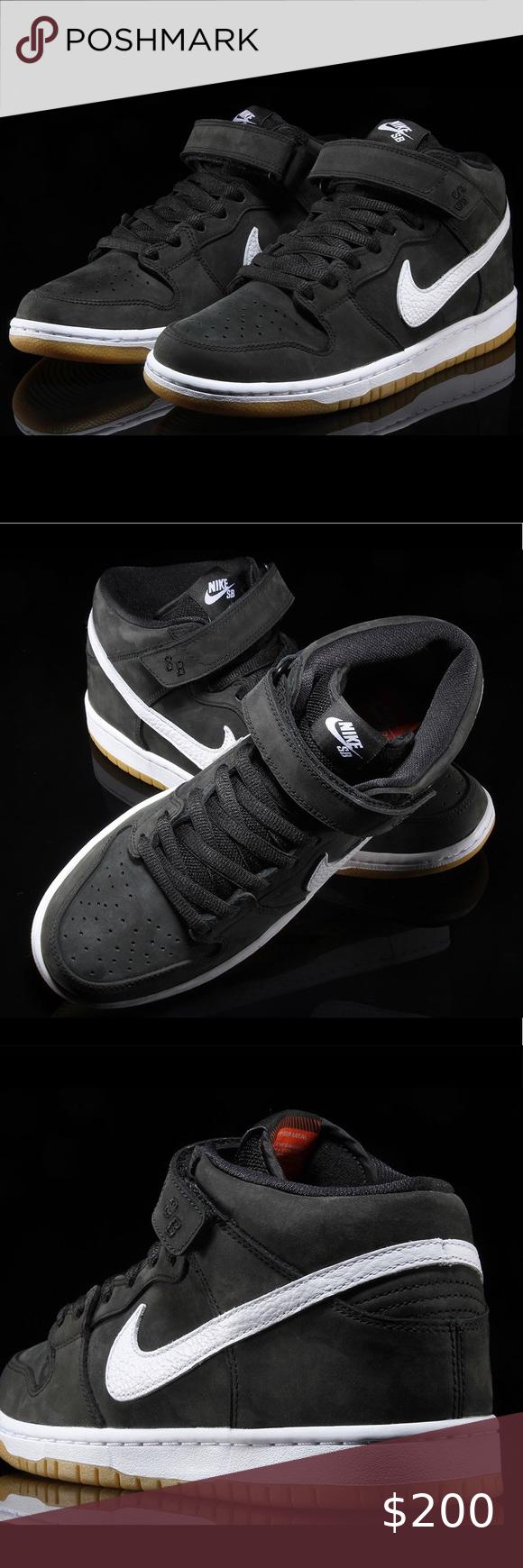 Nike SB Dunk Mid Pro ISO 🔥ORANGE LABEL