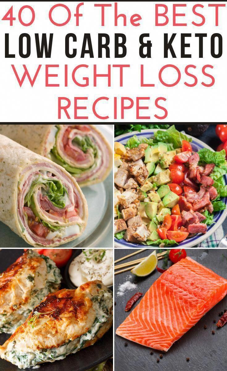 These low carb recipes will jumpstart your weight loss efforts and make meal planning easy! #ketorec...